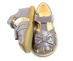 Angulus sandal light grey med sløjfe | 0501 light grey | str. 24-28 | 799,90.-