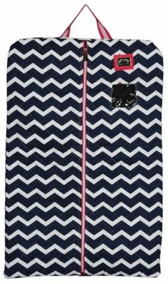 Equine Couture Abby Garment Bag - EC Navy/Hot Pink 110547