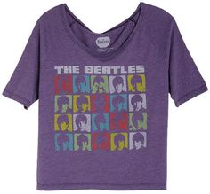 i love the beatles! (and all the beatles shirts at delias)