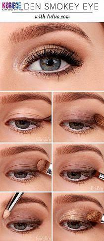 makijaż powiększający oko