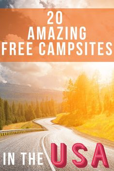 Today we're talking about free camping! In fact, we'll be talking about 20 free camping sites you'll freakin' love. We loved each and every one of these sites and want to share them with you. Free camping AKA boondocking is almost always an off-the-grid e Rv Camping Checklist, Camping Essentials, Camping Hacks, Vacation Checklist, Rv Hacks, Camping Ideas, Packing Checklist, Camping Packing, Camping Outdoors