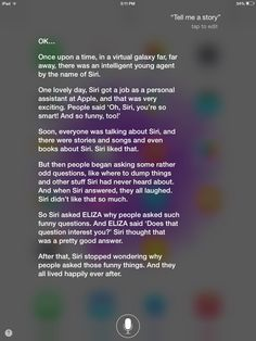 funny things to ask siri and some silly answers features