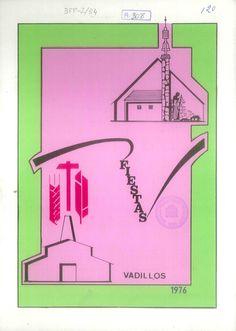 Fiestas de Vadillos (Cuenca), los días 31 de julio a 8 de agosto de 1976. Partido de fútbol entre casados y solteros. #Fiestaspopulares #Vadillos #Cuenca