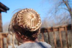 double braids | @hair_by_laurasteiner