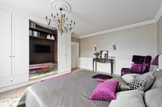 Apartment in Vilnius by Indre Sunklodiene
