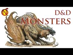 D&D Chimera one of the Meanest Creatures in the MM| Dungeons and Dragons Monsters Monster Manual- Chimera Pg. 39 Chimeras are hodge podges of various creatur...