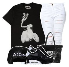 """1-8-15 dont copy my set"" by no-flex-zone ❤ liked on Polyvore featuring NIKE"