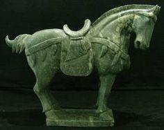 Tang horse - Google Image Result for http://www.artfiberglass.com/jade/images/LH2A_sm.jpg