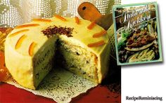 """Cassata Alla Siciliana – Sicilian Birthday Cake - A recipe from """"Italiensk Kjøkken På Sitt Beste"""" (Italian kitchen at it's best) published by a book club in 1977 - Originally, the famous cassata was a birthday cake before the now so regular ice cream. There are many variations of the cake. It has Pan di Spagna (Italian Sponge) as base and made oblong, round or bowl shaped."""