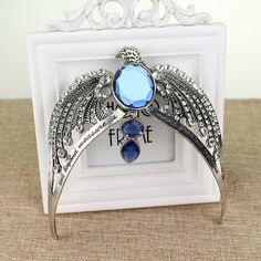 Harry HP Ravenclaw Lost Diadem Tiara Crown Voldemort's Horcrux  Large Size