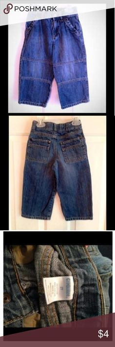 🌀Boys Denim Excellent used condition. (My son doesn't  keep his clothes on his body very long..I'm sure a lot of you can relate😉) Gymboree Bottoms Jeans