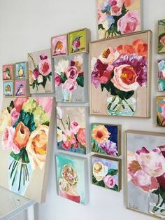 [New] The 10 Best Home Decor Ideas Today (with Pictures) - I've started to try my hand at painting. This is my inspiration photo. My work looks NOTHING like it. I should probably stick to building things. but for now I will enjoy this beautiful art. Art Floral, Floral Artwork, Peony Drawing, Drawing Flowers, Art Painting Flowers, Acrylic Painting Inspiration, Painting Collage, Knife Painting, Painted Flowers