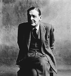 "Poet, playwright and literary critic T.S. Eliot is photographed in London in 1950. Penn brought ""poetry to immobility,"" as one admiring critic, Rosamond Bernier, said of his style."