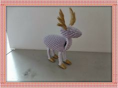Origami Maniacs: 3d Origami Reindeer