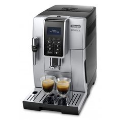 Machine Robot à grains Dinamica - - Delonghi Espresso Drinks, Espresso Coffee, Coffee Drinks, Espresso Machine Reviews, Espresso Maker, Italian Espresso, Italian Coffee, Coffee Milk, Coffee Cups