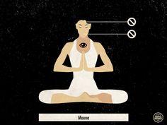 La palabra sánscrita Mouna significa silencio. Podemos practicar diferentes tipos de silencio y uno de los momentos ideales para hacerlo es durante la mañana. Hay dos sentidos fundamentales que
