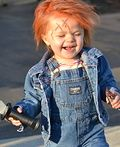 Chucky Doll DIY Costume for Babies - 2012 Halloween Costume Contest