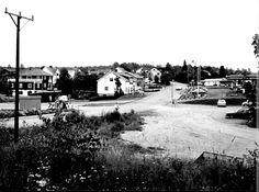 Värmland Årjängs kommun Töcksfors Centrum 1970-talet
