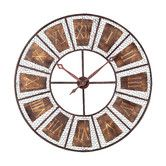 """Found it at Wayfair - Sterling Industries Wooden Outdoor Wall Clock 35"""""""