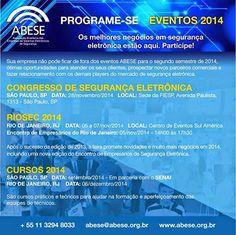 BRADO CONSULTORIA E SERVIÇOS LTDA.: EVENTOS 2014 ABESE