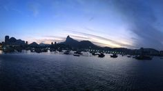 Entardecer Urca, Rio de Janeiro.