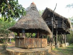 The Mudhouse, six km north of Anamaduwa, Sri Lanka, offers an authentic ecotourism experience. Sri Lanka, National Parks, House Styles, State Parks