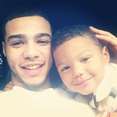 Father and son    ♡  .:RBK:.  #BlackFathers #RealBlackKings