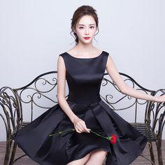 Prom dress banquete 2017 projeto vestido formal curto dress feminino black dress one piece dress verão em Vestidos do baile de finalistas de Casamentos & Eventos no AliExpress.com   Alibaba Group