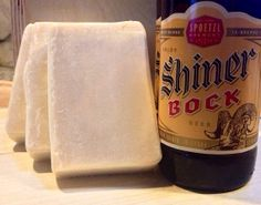 Fathers Day Gift, BEER Soap, Made with Shiner Bock Beer, 5 oz Bar