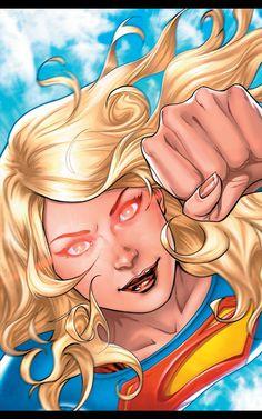 Supergirl Series, Supergirl 2016, Supergirl Comic, Cyborg Superman, Mundo Superman, Batman, Superman News, Dc Rebirth, Comic Books Art