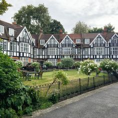 A little group of houses in London's Chelsea.