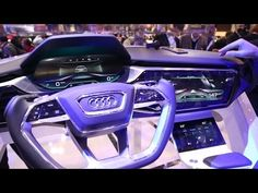 Audi Connect Car to X - CES 2016 - YouTube