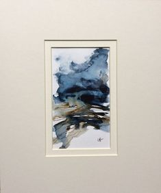Watercolour & Ink based on the north Norfolk coast, a place of big skies and marshlands. Watercolor Landscape, Abstract Watercolor, Watercolor And Ink, Abstract Landscape, Watercolour Painting, Abstract Art, Abstract Paintings, Watercolours, Painting Courses
