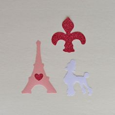 Paris Theme Appliques Iron On  No Sew by HappyPatches on Etsy, $12.00