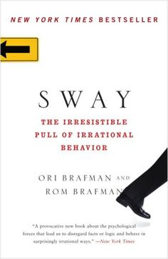 Sway: The Irresistible Pull of Irrational Behavior by Ori Brafman http://www.amazon.com/dp/0385530609/ref=cm_sw_r_pi_dp_KdUzvb19K8S65