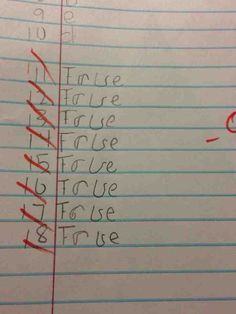 This true/false question method: | The 27 Most Brilliant Things That Have Ever Happened