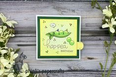 pull-tab card Interactive Cards, Lawn Fawn, Cardmaking, Birthday Cards, Paper Crafts, Type, Art, Bday Cards, Art Background
