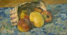 Overturned Basket of Fruit - Paul Cézanne - The Athenaeum