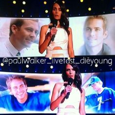 Remembering Paul Walker 2014 MTV Awards,  Jordana Brewster