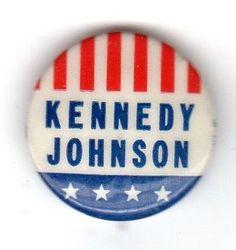 1960 Presidential Campaign Button http://www.rosettabooks.com/?s=JFK
