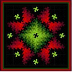 The arrangement of colors makes this quilt!!      Enlarged View of image:1374779500.jpg