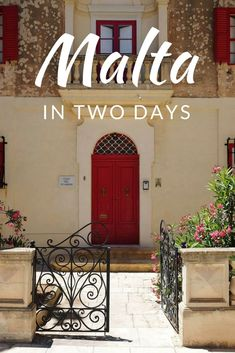 Places to visit in Malta Island in TWO days! A Travel Itinerary | Want to visit the sunny Mediterranean island of Malta but short on time? Check Out this Guide NOW!   vacation destination underrated travel destinations beautiful travel destinations travel destinations beautiful