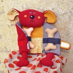 Stuffed Animal Patterns, Diy Stuffed Animals, Sewing For Kids, Diy For Kids, Felt Doll Patterns, Kit Bebe, Waldorf Dolls, Fabric Dolls, Rag Dolls