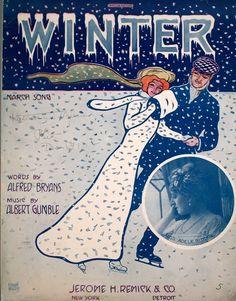 Sheet Music- 1910, Winter....Brrrrr...
