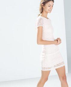 Lace Tube Dress from Zara R199,90