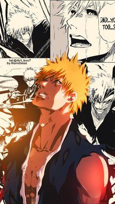 By:RamiDeaa Ichigo Kurosaki Wallpaper, Bleach Ichigo Bankai, Ichigo Manga, Bleach Manga, Manga Art, Manga Anime, Anime Art, Shinigami, Anime Love