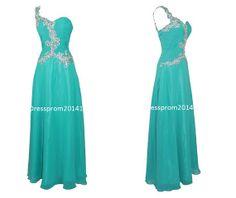 Blue long prom dress long prom dresses