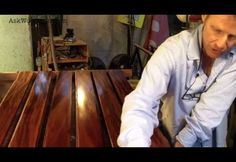 14 How To Apply A Tung Oil Based Finish - SOLID WOOD DOOR SERIES - Video 4 - Woodworkingguides.info