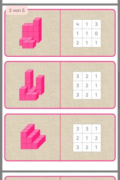 Blokkenbouwsels - New Sites Coding For Kids, Math For Kids, Kindergarten Math Activities, Teaching Math, Busy Boxes, Grande Section, Math Books, Brain Training Games, Math Art