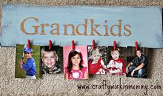 Mother's Day grandkids sign DIY